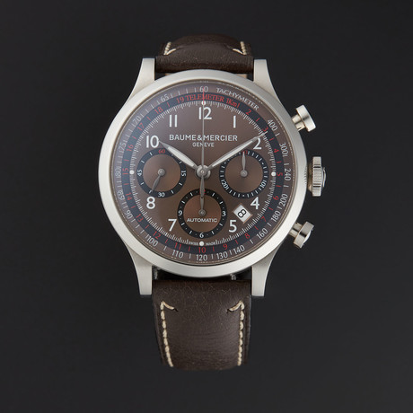 Baume & Mercier Capeland Chronograph Automatic // M0A10002 // Store Display