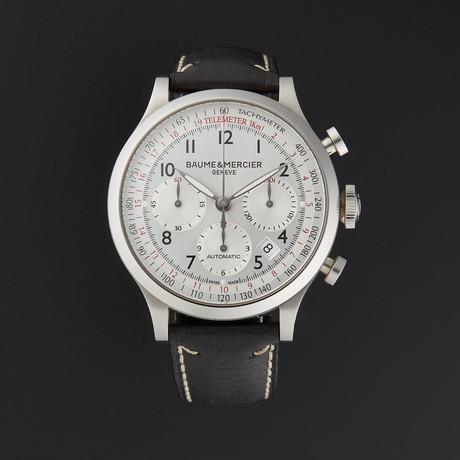 Baume & Mercier Capeland Chronograph Automatic // M0A10005 // Store Display