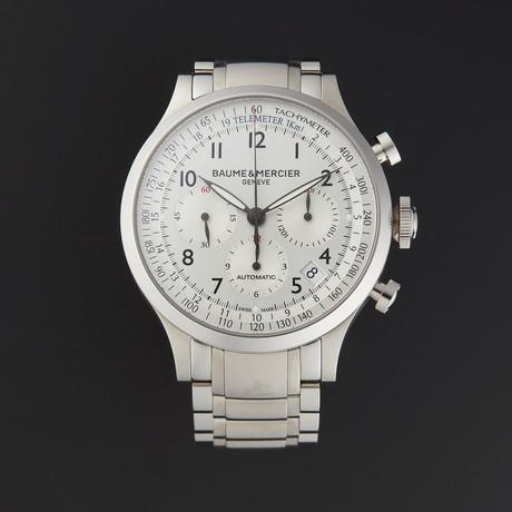 Baume & Mercier Capeland Chronograph Automatic // M0A10064 // Store Display