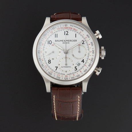 Baume & Mercier Capeland Chronograph Automatic // M0A10082 // Store Display