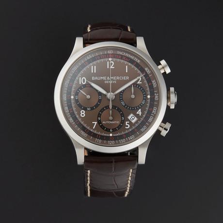 Baume & Mercier Capeland Chronograph Automatic // M0A10083 // Store Display