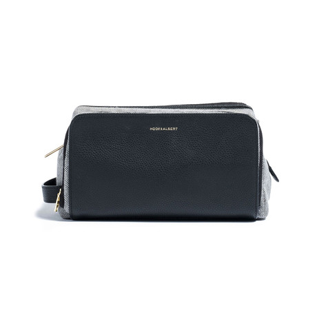 Chris Paul Collection Dopp Kit // Black Leather