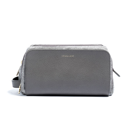 Chris Paul Collection Dopp Kit // Gray Leather