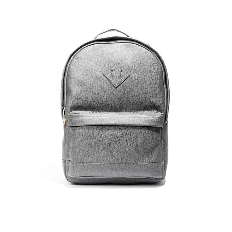 Chris Paul Collection Commuter Backpack // Gray Leather