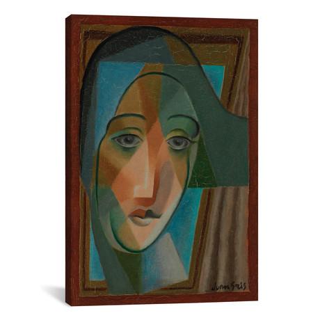 "Pictorial Construction // Olga Vladimirovna Rozanova  // 1916 (60""W x 40""H x 1.5""D)"
