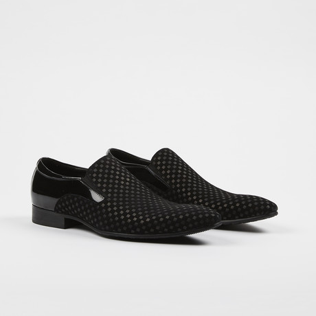 Slip On Loafer Dress Shoes // Black (US: 6)