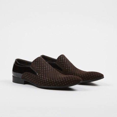 Slip On Loafer Dress Shoes // Brown (US: 7)