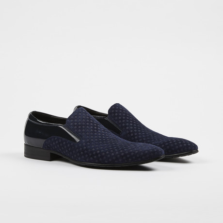 Slip On Loafer Dress Shoes // Navy (US: 6)