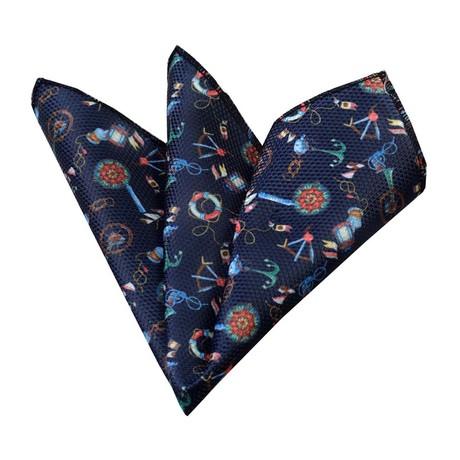 Funky Style Silk Handkerchief + Gift Box // Multicolor