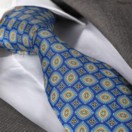 Tie // Blue + Yellow