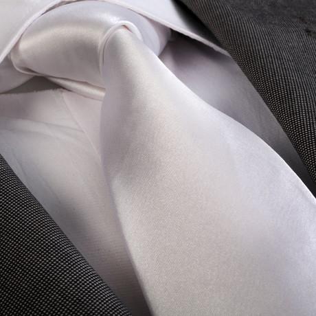Tie // Solid White