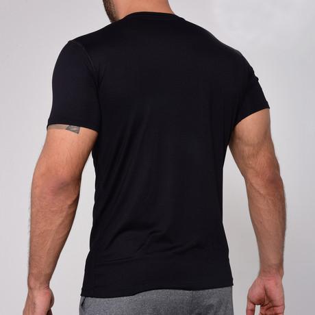 Classic T-Shirt Crew-Neck // Black (S)