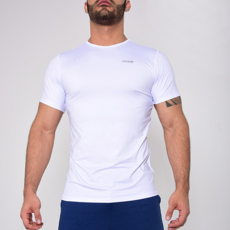 Classic T-Shirt Crew-Neck // White (S)