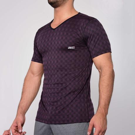 T-Shirt V-Neck // Black (S)