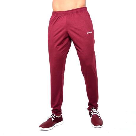 Sweatshirt With Zipper In Pocket // Red (S)