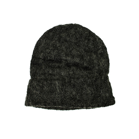 Knit Beanie // Black + White