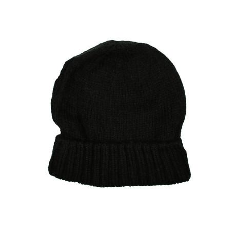 Knit Beanie // Black