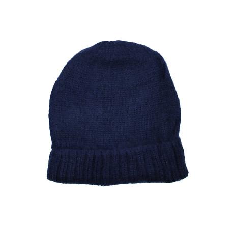Knit Beanie // Navy