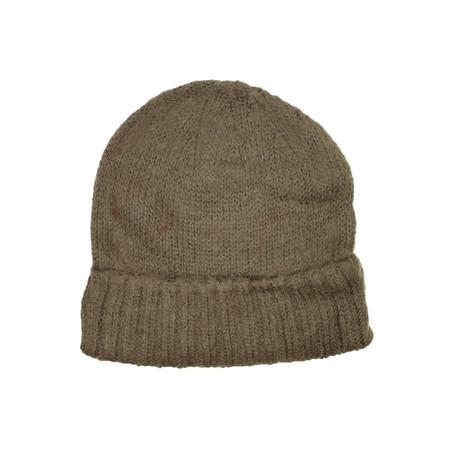 Knit Beanie // Brown