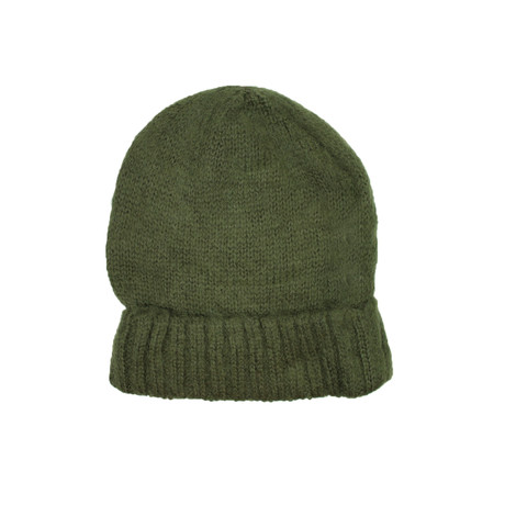 Knit Beanie // Olive