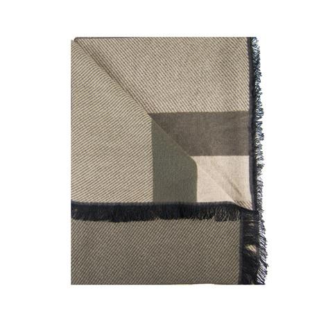 Block Scarf // Olive + Khaki