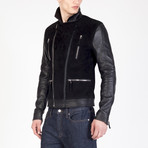 Leather Jacket // Black (S)