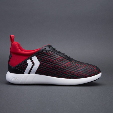 Men's Onyx // Red (US: 7)