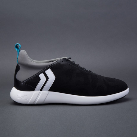 Camo Low-Top Sneaker // Black