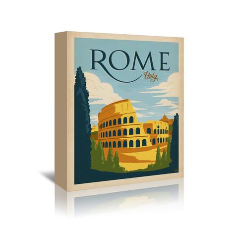 "Rome, Italy (7""W x 5""H x 1""D)"