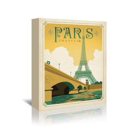 """Paris, France (7""""W x 5""""H x 1""""D)"""