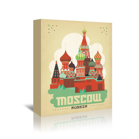 """Moscow, Russia (7""""W x 5""""H x 1""""D)"""