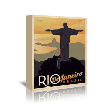 """Rio De Janiero, Brazil (5""""W x 7""""H x 1""""D)"""