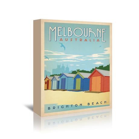 """Melbourne, Australia (7""""W x 5""""H x 1""""D)"""