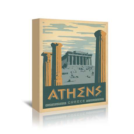 "Athens, Greece (5""W x 7""H x 1""D)"