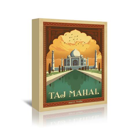 """Agra, India // Taj Mahal (7""""W x 5""""H x 1""""D)"""