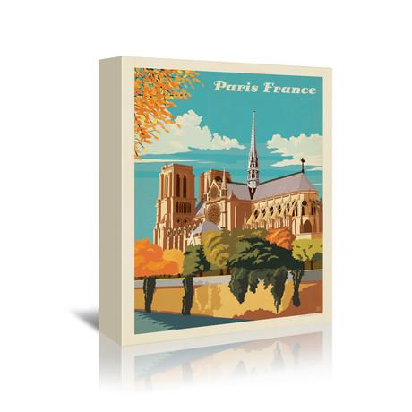 """Paris, France // Notre Dame (7""""W x 5""""H x 1""""D)"""