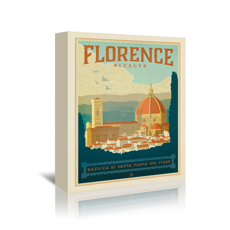 """Florence, Italy (7""""W x 5""""H x 1""""D)"""