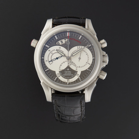 Omega Deville Co-Axial Rattrapante Automatic // 4848.40.31 // Store Display