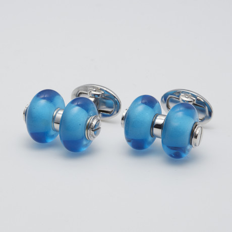 Glass Bead Cufflinks