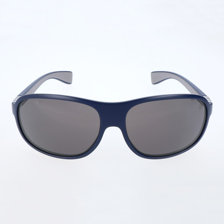 Pascal Sunglasses // Navy Blue + Light Grey + Grey