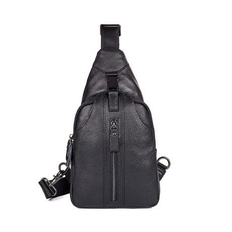 Vence Leather Chest Bag