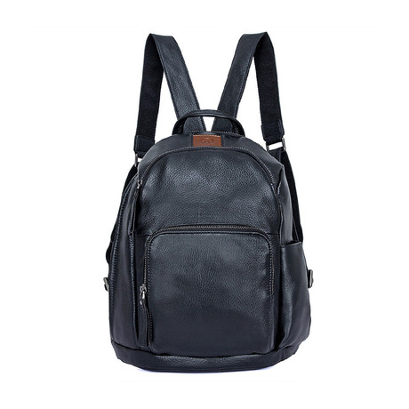 Bonni Leather Backpack // Black
