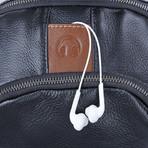 Bonni Leather Backpack // Black
