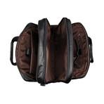 Malta Leather Briefcase (Black)