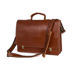 Tarra Leather Bag // Brown