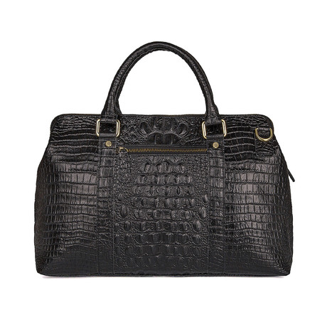 Limmon Leather Handbag (Black)