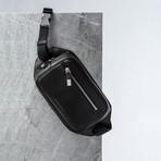 Nappa Leather Clutch // Black