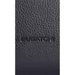 Pebble Leather Weekender Duffel // Black