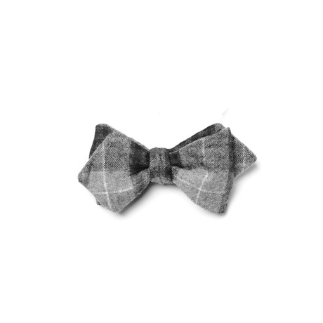 Nightingale Bow Tie // Black + Grey