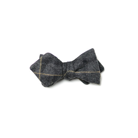 Lehmann Bow Tie // Black + Grey